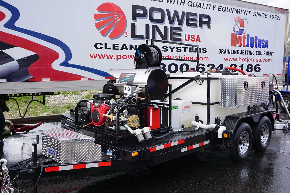 Maui Power Washing Trailer is EPA Compliant!